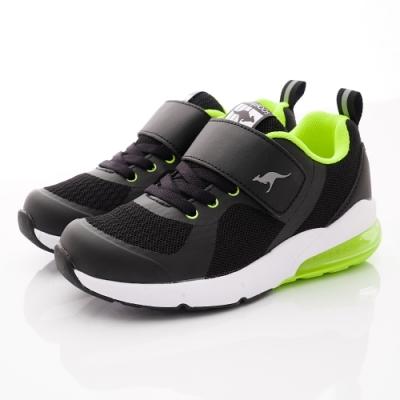 KangaROOS童鞋 ASTRO氣墊跑鞋NI1210黑(中大童段)