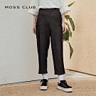 【MOSS CLUB】台灣製造率性丹寧-長褲(二色)