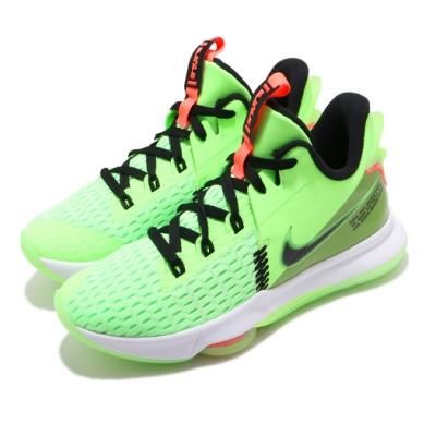 Nike 籃球鞋 LeBron Witness V 男鞋 明星款 氣墊 舒適 避震 包覆 運動 綠 黑 CQ9381300