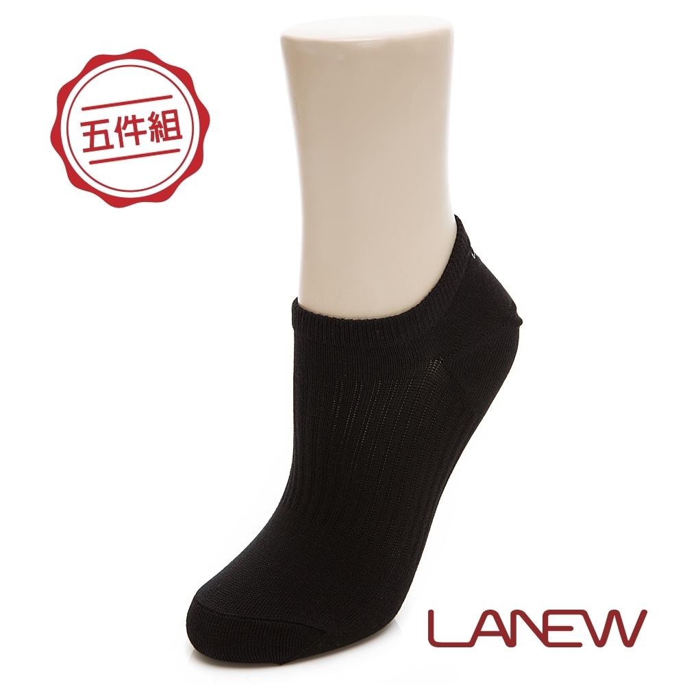 LA NEW 中性船型短襪五件組(298780303)