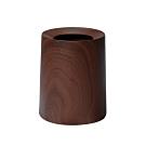 日本IDEACO 胡桃木紋家用垃圾桶-11.4L