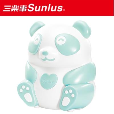 [滿額送腳皮機]Sunlus三樂事 熊貝比電動吸鼻器(粉藍)