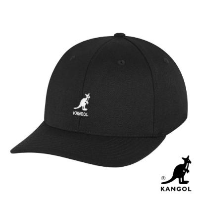 KANGOL -WOOL FLEXFIT 棒球帽-黑色