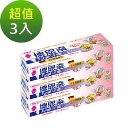 德恩奈 兒童牙膏草莓口味90g-超值三入組