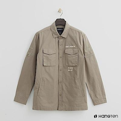 Hang Ten - 男裝 - 個性風格襯衫 - 卡其