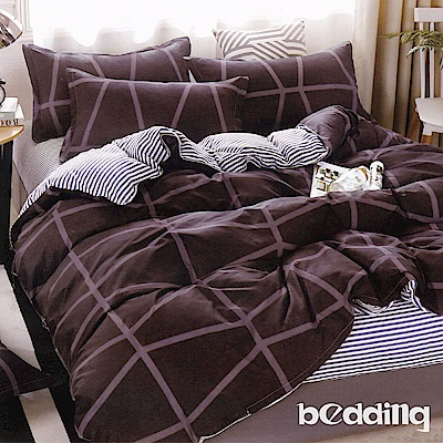BEDDING-活性印染5尺雙人薄床包涼被組-未來時空