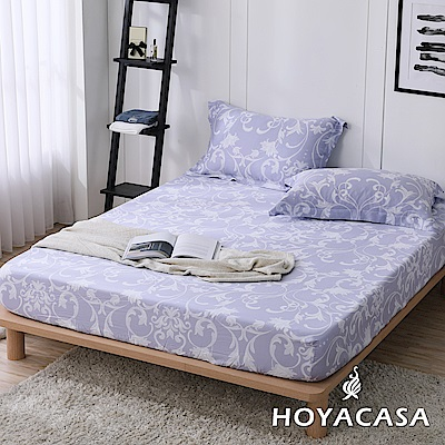HOYACASA維納斯 加大親膚極潤天絲床包枕套三件組