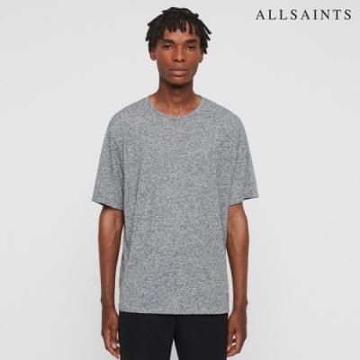 ALLSAINTS NEPTUNE 混色舒適圓領短袖T恤-灰