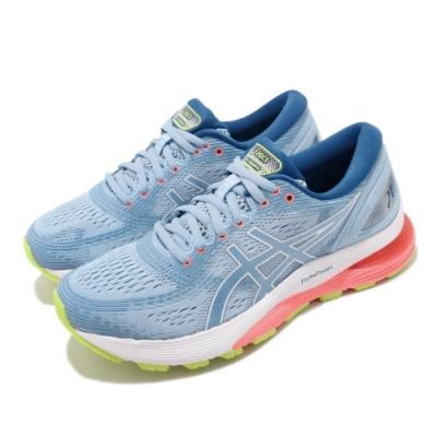 Asics 慢跑鞋 Gel-Nimbus 21 D 寬楦 女鞋