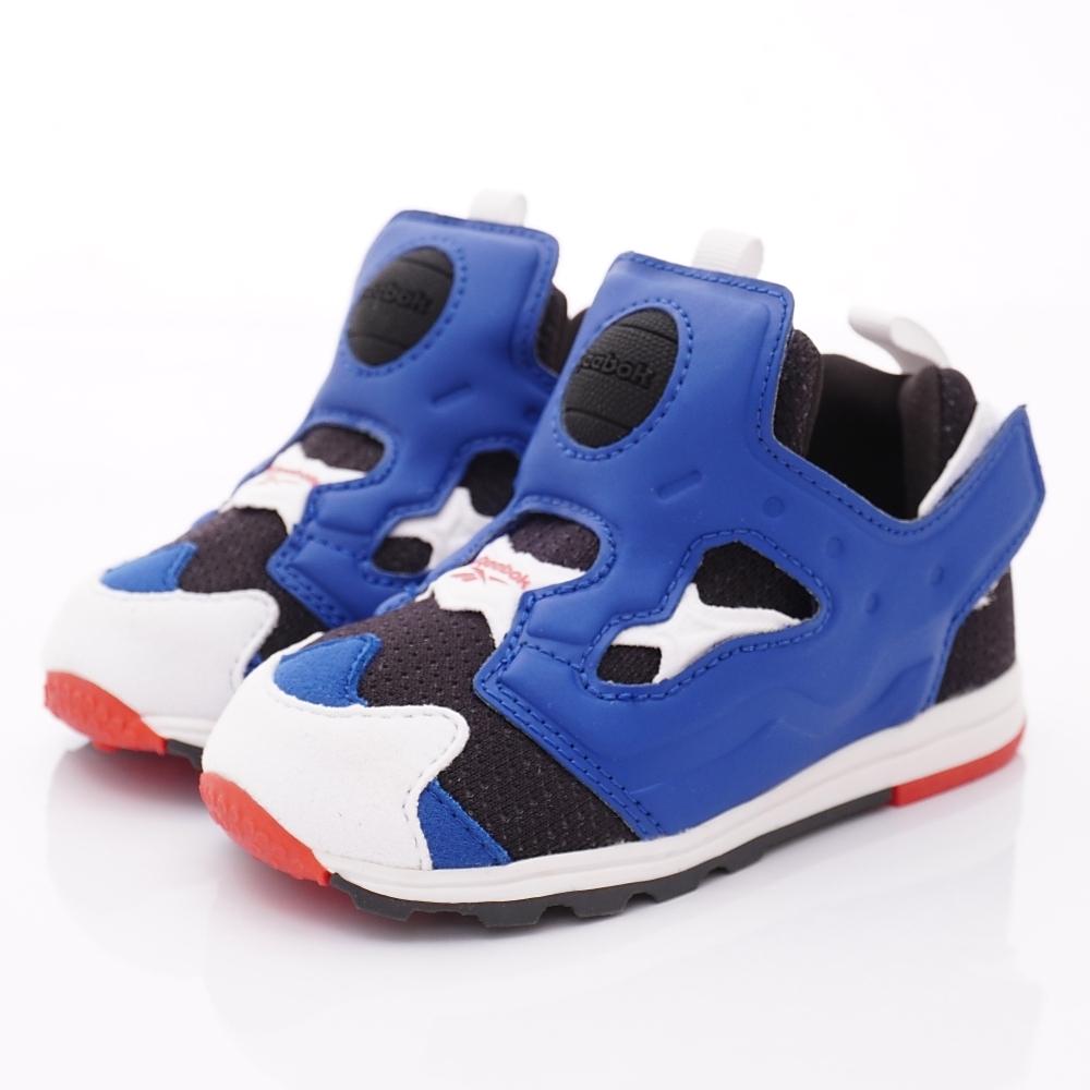 Reebok頂級童鞋 嗶嗶籃球學步鞋款 EI543藍(寶寶段)
