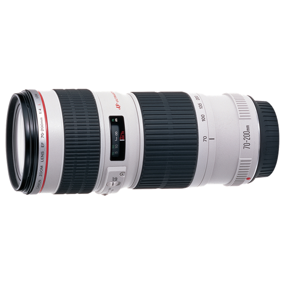 CANON EF 70-200mm f/4L USM 小小白-遠攝變焦鏡頭*(平輸)