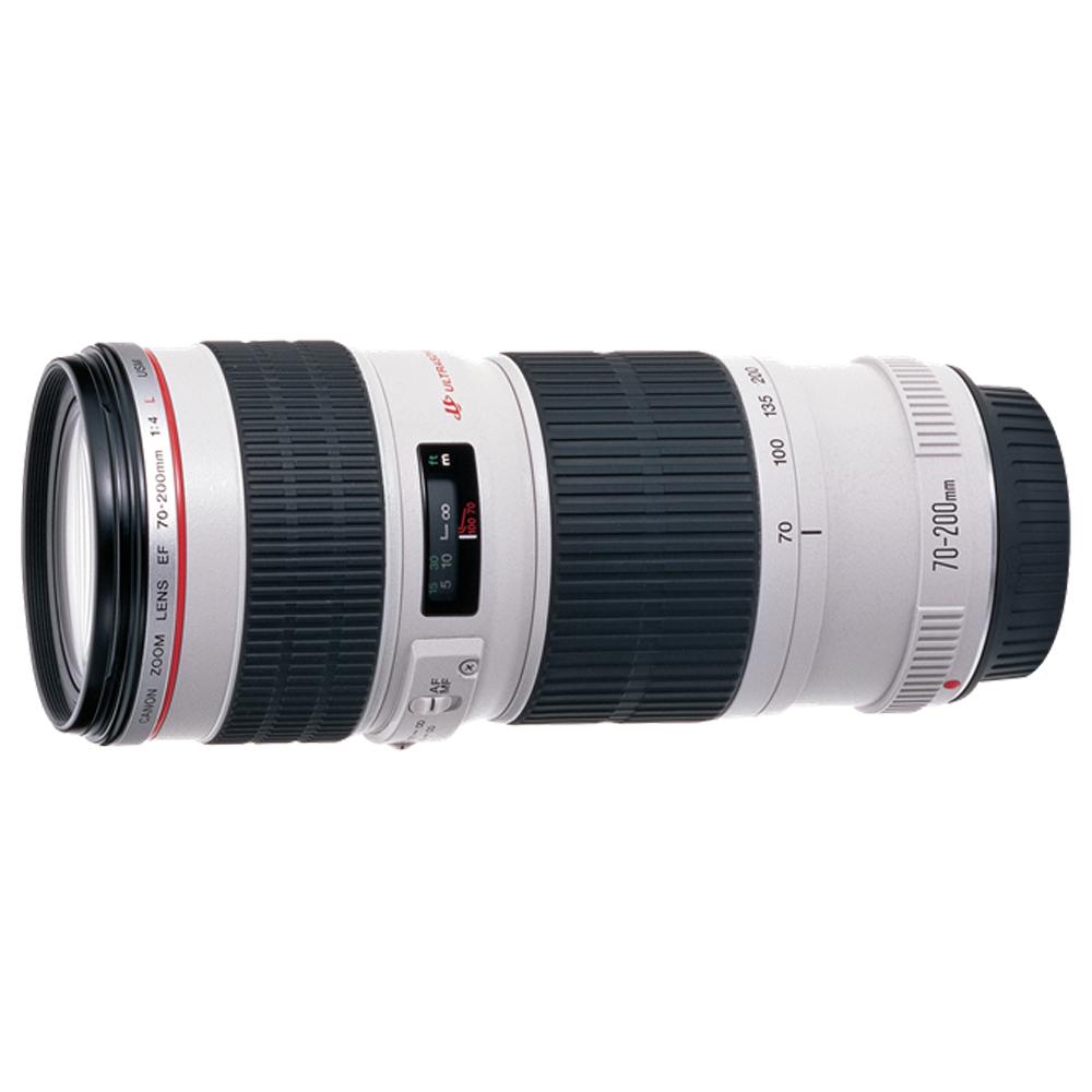 【快】CANON EF 70-200mm f/4L USM 小小白-遠攝變焦*(平輸)