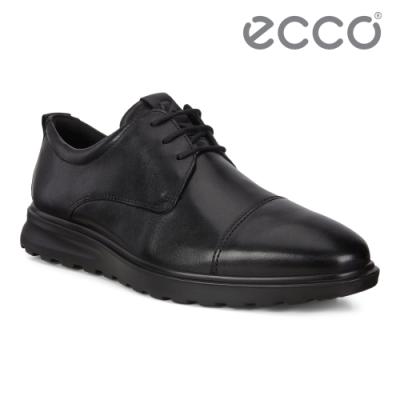 ECCO CS20 HYBRID 商務正裝休閒風格皮鞋 網路獨家 男鞋 黑色