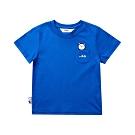FILA KIDS #WONNIE系列小童圓領TEE-寶藍1TET-8455-AB