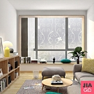 JIAGO 抗UV防曬門窗玻璃貼45x150cm
