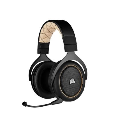 CORSAIR HS70 PRO WIRELESS 無線電競耳麥/奶油白/無線/USB/CA-9011210-AP