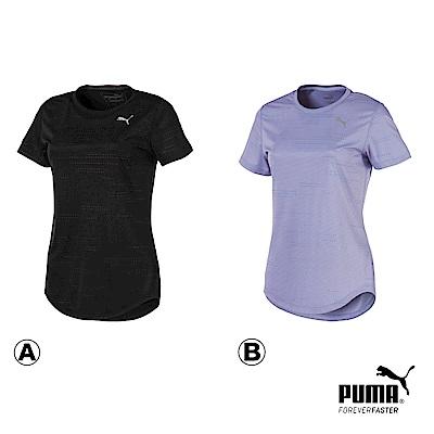 時時樂限定PUMA-女性經典印花短T-歐規-共2色