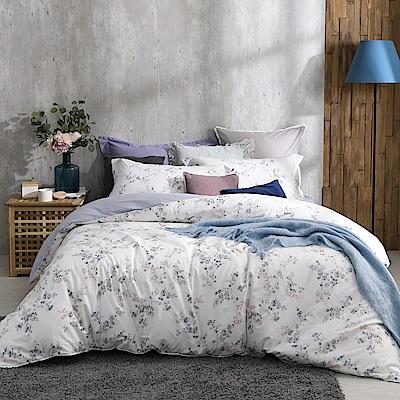 BBL Premium 秘密綻放100%精梳棉印花兩用被床包組(雙人)