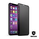 T.G iPhone 11/XR 超強二合一防窺+霧面9H滿版鋼化玻璃 鋼化膜 玻璃保護貼