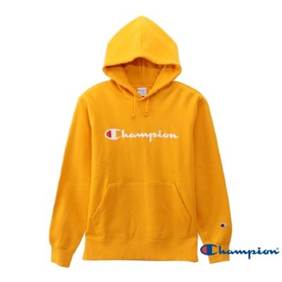 Champion Basic Logo 經典款連帽Tee 黃色