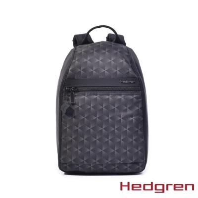 【Hedgren】方塊黑後背開口包 - HIC11 VOGUE