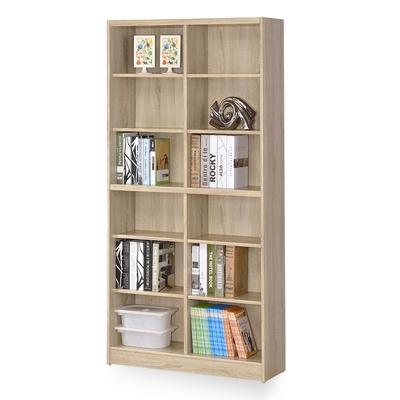 時尚屋 格納3x6尺開放式書櫃 寬90x深30x高180公分