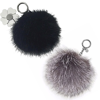 MICHAEL KORS CHARMS毛球鑰匙圈吊飾(10款/附盒)