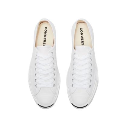 CONVERSE 開口笑 男女款 低筒帆布鞋-白164057C