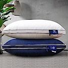 Hilton 希爾頓 五星級純棉立體銀離子抑菌獨立筒枕 1入