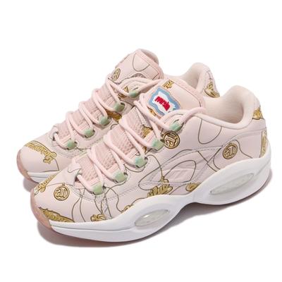 Reebok 籃球鞋 Question Low 聯名 運動 男鞋 海外限定 BBC Ice Cream 球鞋 粉  FZ4341
