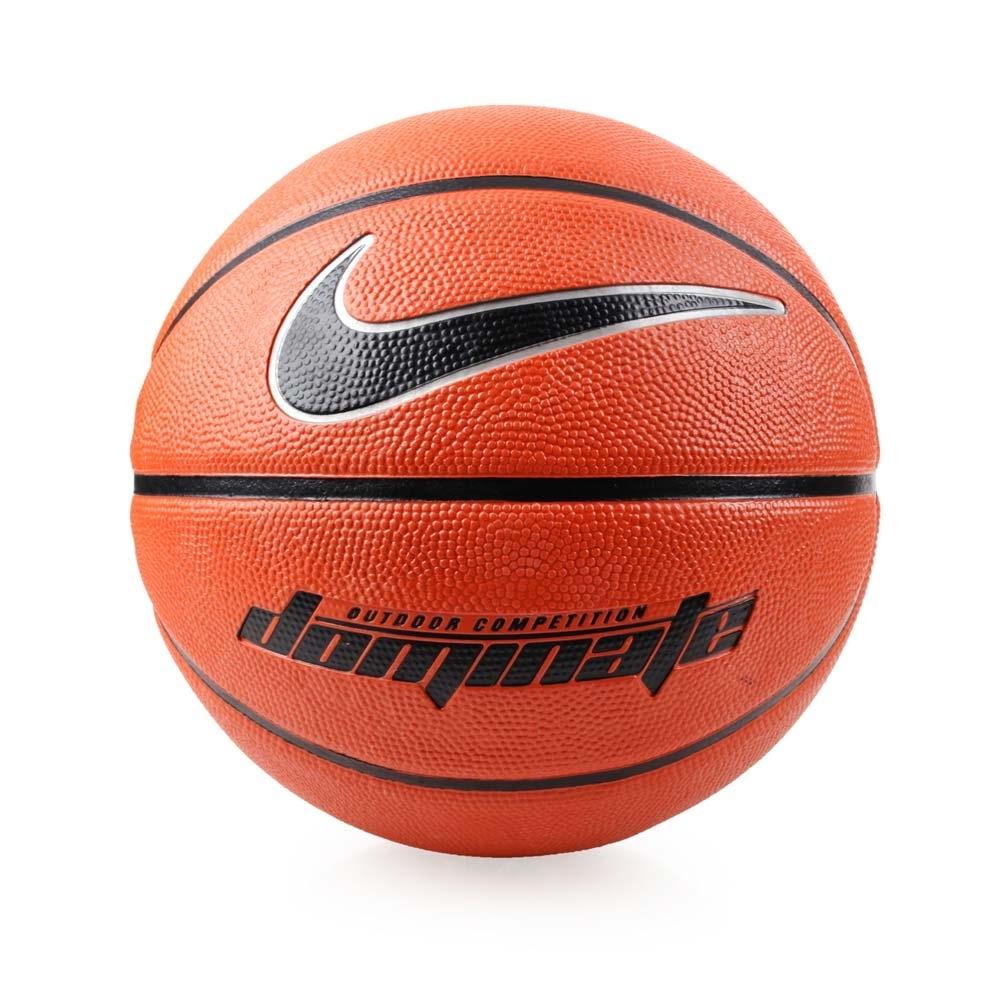 NIKE DOMINATE 7號籃球 橘黑