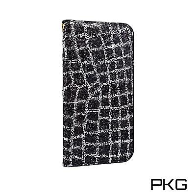 PKG IPhone X/Xs 爆閃鑽面皮套