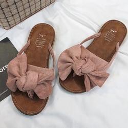 KEITH-WILL時尚鞋館 簡約淑女沙灘夾腳拖鞋 粉