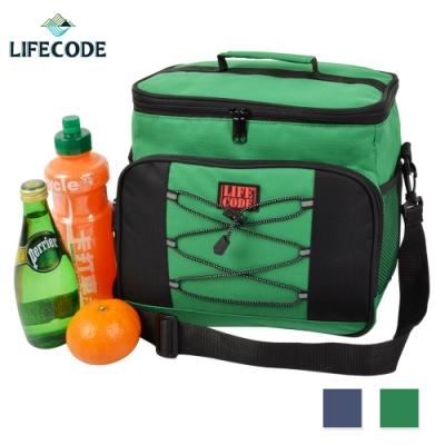 LIFECODE 歐風保冰袋/保溫袋/保冷袋(15L)-2色可選