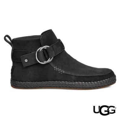 UGG女士 Sloane 麂皮扣環 美式短靴