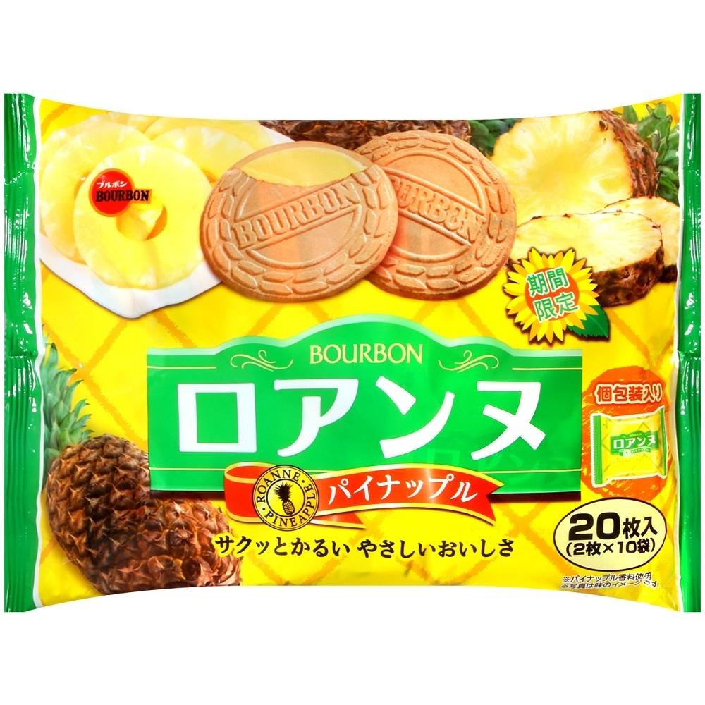 Bourbon北日本 鳳梨風味法蘭酥(142g)