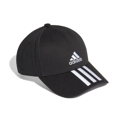adidas 帽子 BBALL 3S Cap CT 男女款 愛迪達 三線 老帽 遮陽帽 穿搭 黑 白 FK0894