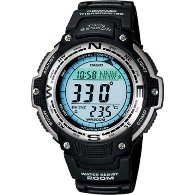 CASIO 卡西歐 多功能戶外運動錶(SGW-100-1VDF)