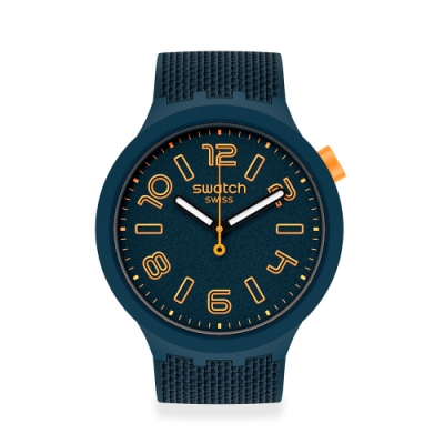 SWATCH BIG BOLD系列手錶BURNING LAVA 活力紳士(47mm)