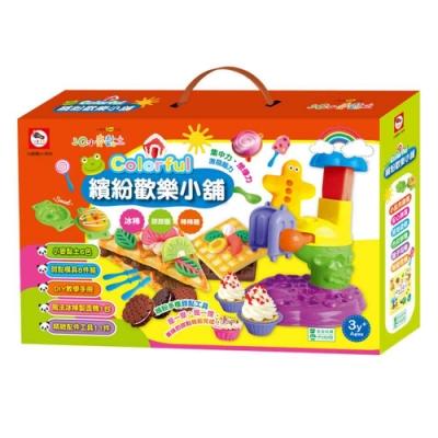 3Q小麥黏土:Colorful 繽紛歡樂小舖(冰棒+甜甜圈+棒棒糖)