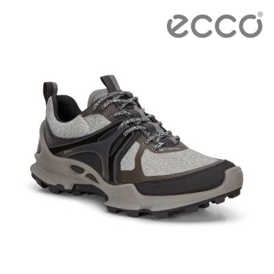 ECCO BIOM C-TRAIL W 縱橫越野健步運動鞋 女-暖灰/黑