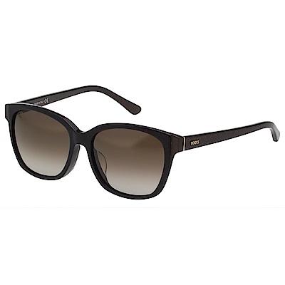 TOD'S 時尚方框 太陽眼鏡(黑色)TO159F