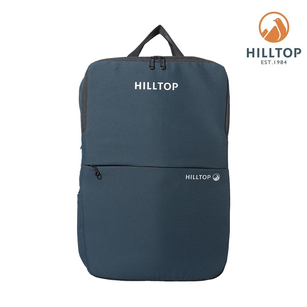 【hilltop山頂鳥】超潑水25L多功能後背包T28XA3藍