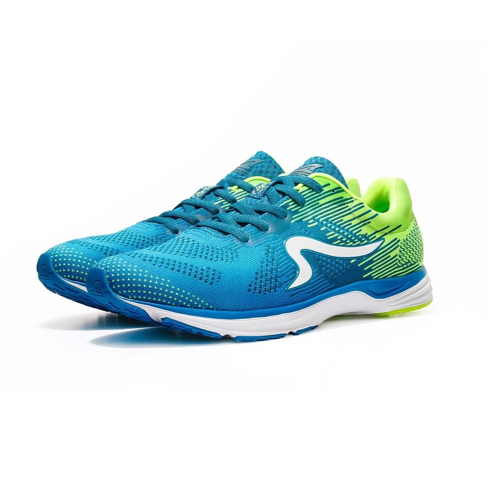 【ZEPRO】男子雲豹 LEOPARD 系列競速路跑鞋-藍綠