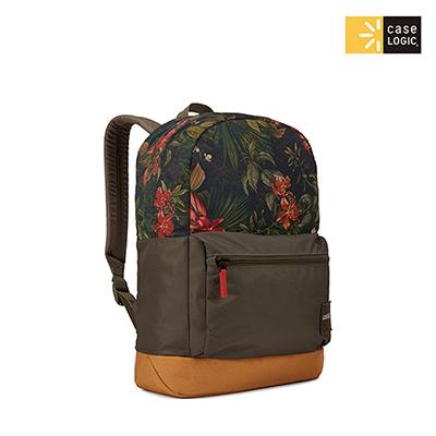 Case Logic-CAMPUS 24L筆電後背包CCAM-1116-花紋/綠褐