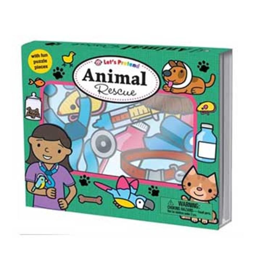 Let's Pretend:Animal Rescue 搶救動物硬頁掀翻操作書(英國版)