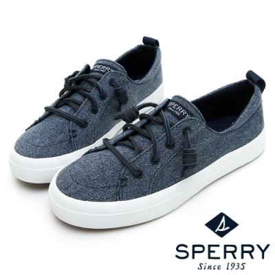 SPERRY 街頭風尚時尚帆布鞋(女)-暗藍