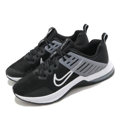 Nike 訓練鞋 Alpha Trainer 3 運動 男鞋 氣墊 舒適 支撐 避震 健身房 球鞋 黑 白 CJ8058001