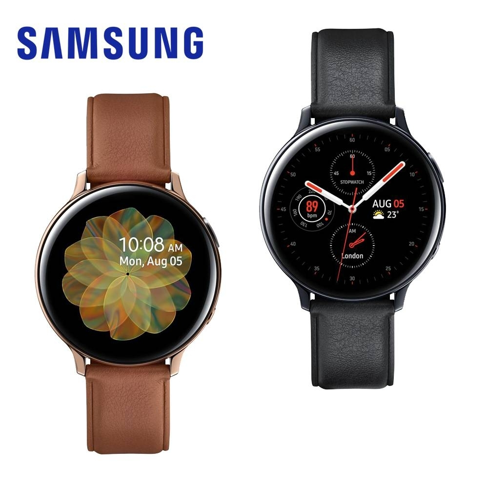 Samsung  Galaxy Watch Active2 智慧手錶-不鏽鋼/44mm 新品上市x送無線充電板