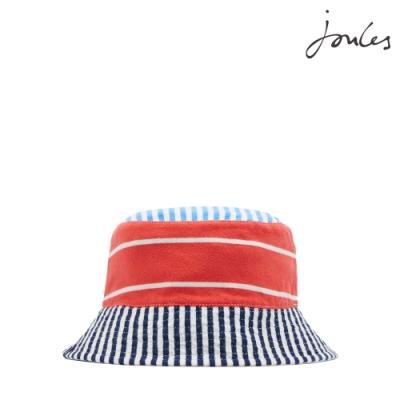 英國【Joules】BRIT條紋雙色遮陽帽